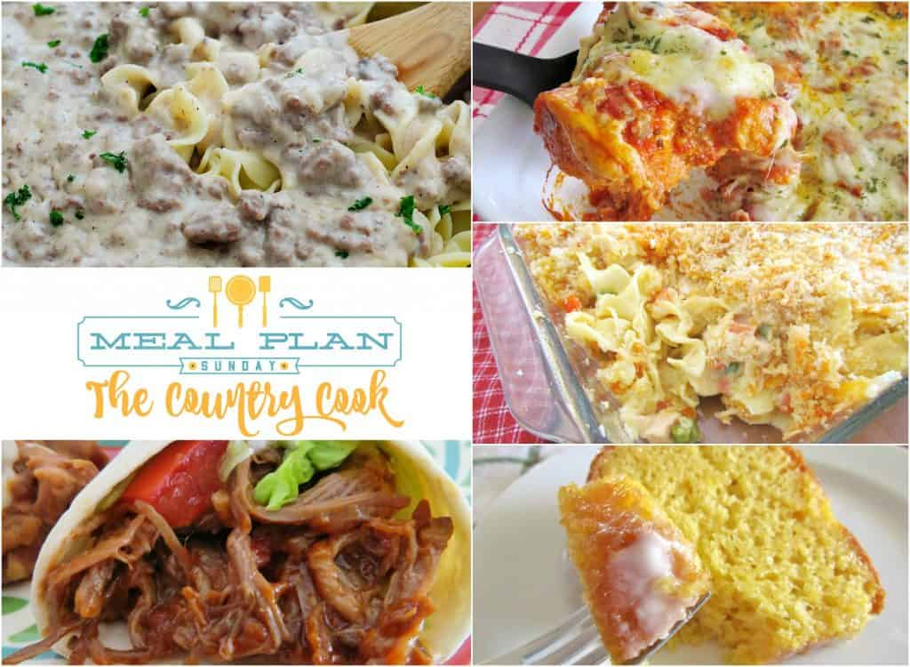 Chicken Noodle Casserole at Meal Plan Sunday