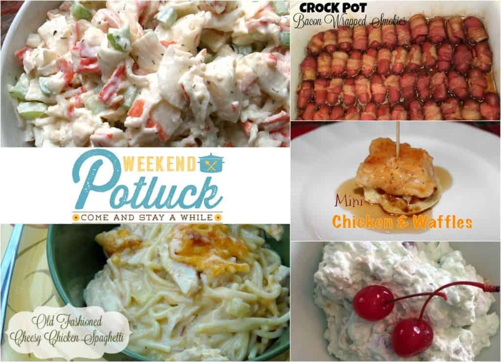 Retro 7-Up Salad at Weekend Potluck