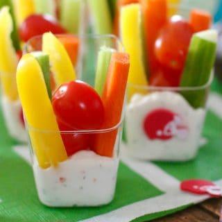 Veggie Dip Cups