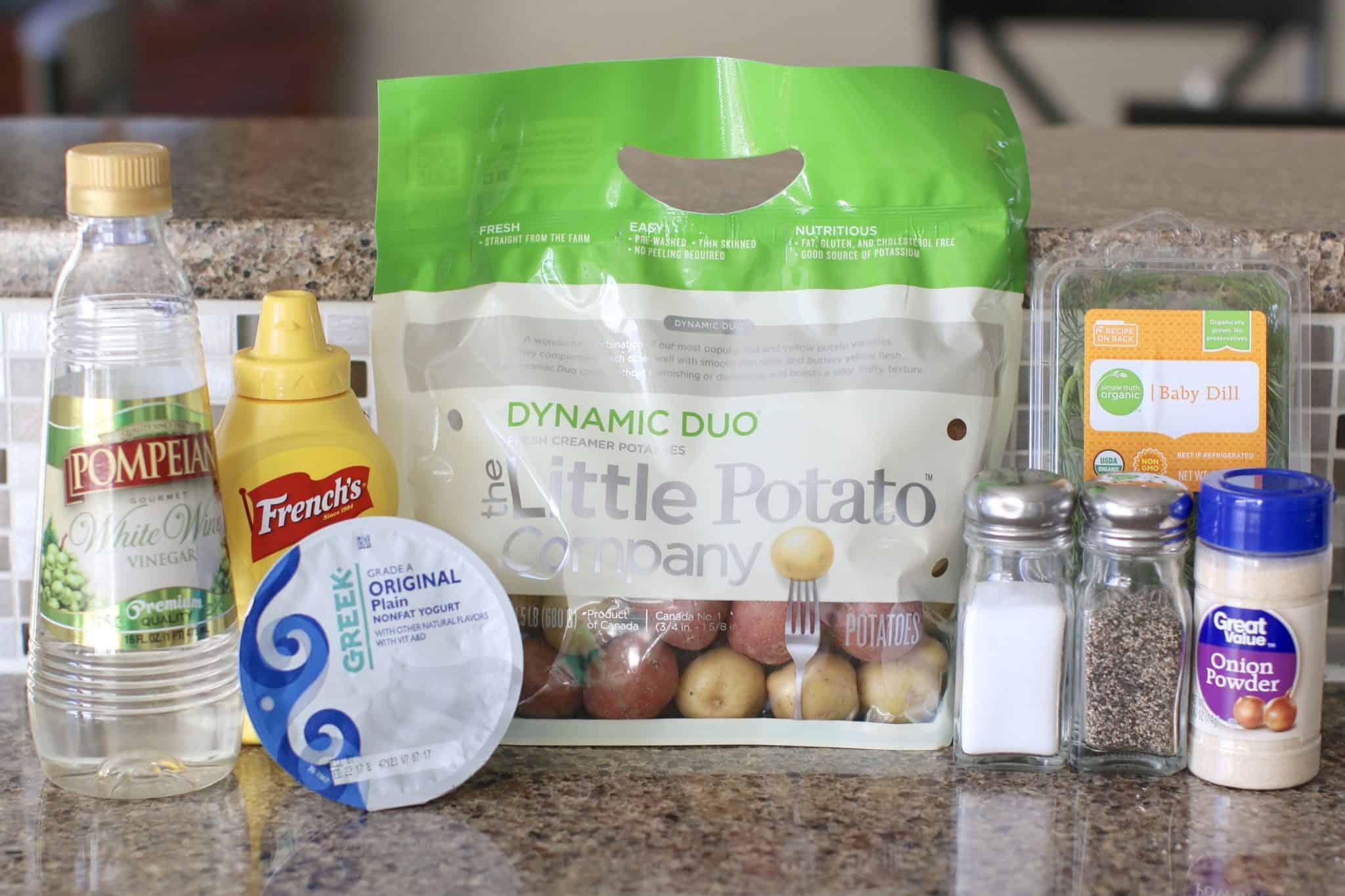 Greek Yogurt and Dill Potato Salad