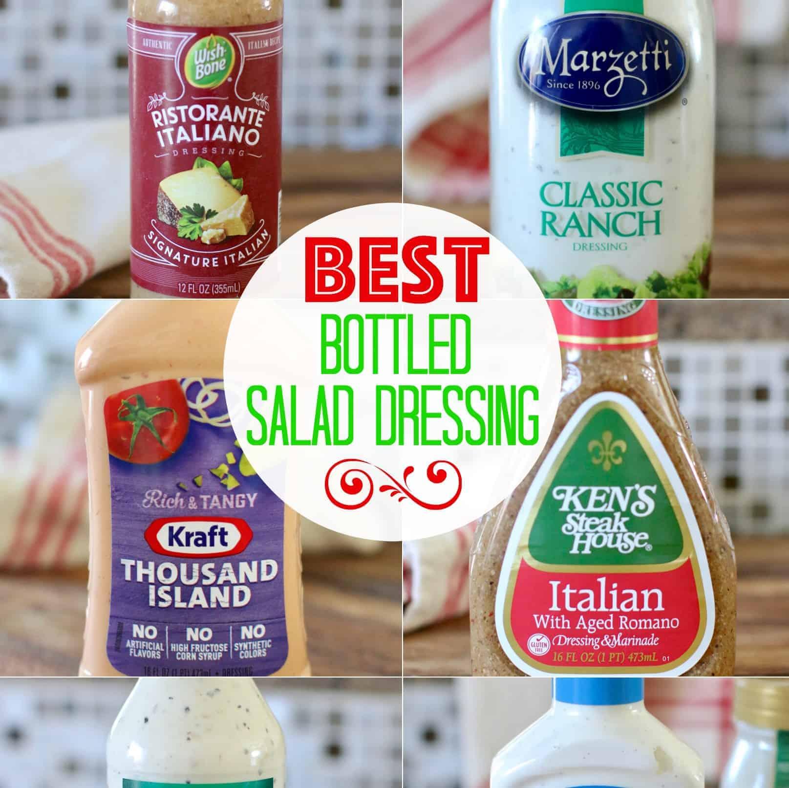 The Best Bottled Salad Dressing | The