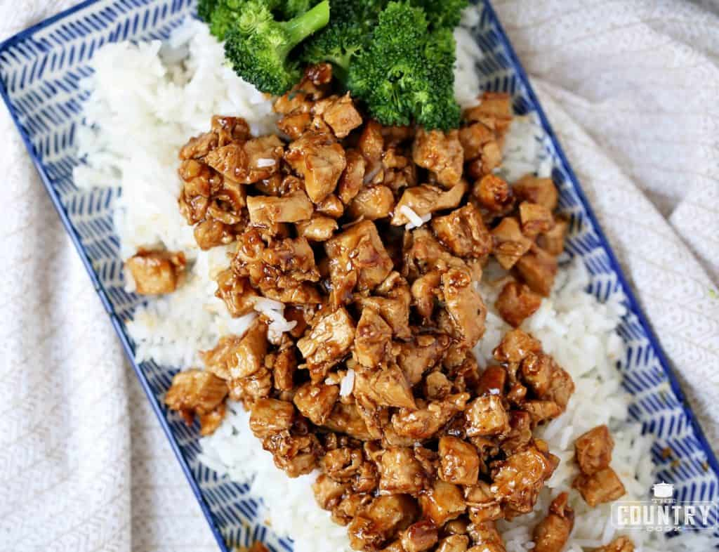 Fast and Easy Chicken Teriyaki