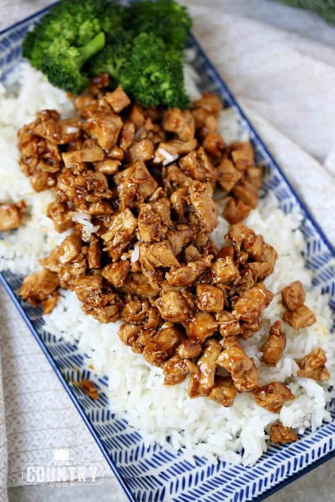 Easy Teriyaki Chicken and Rice