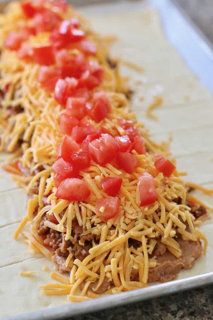 Fiesta Taco Braid