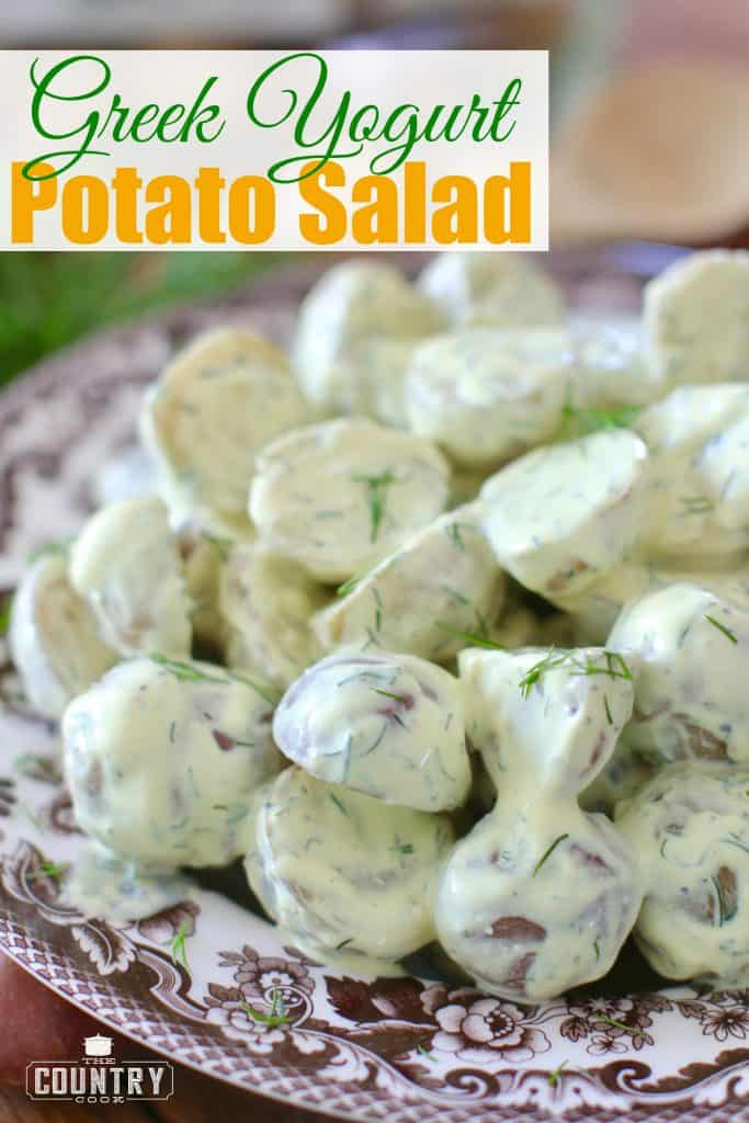 Greek Yogurt Dill Potato Salad