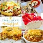 Cornbread Waffles with Chili at Meal Plan Sunday #19