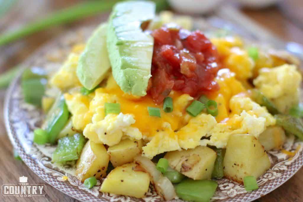 Make Ahead Breakfast Bowls recipe from The Country Cook