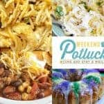 Easy Chicken Spaghetti at Weekend Potluck #260