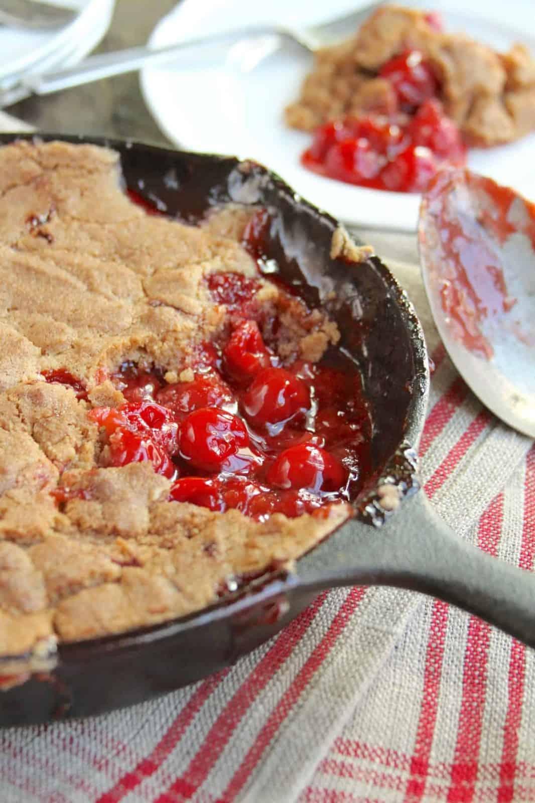 Skillet Cobbler Recipe Cake Mix