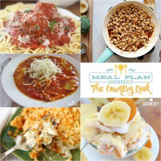 Crock Pot Marinara Sauce & Meatballs ~ Meal Plan Sunday #23