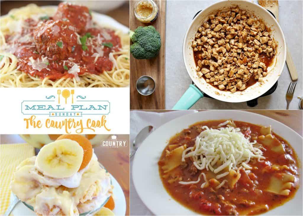 Crock Pot Marinara Sauce & Meatballs at Meal Plan Sunday