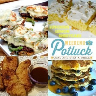 Pork Tenders ~ Weekend Potluck #266