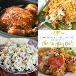Meal Plan Sunday #29