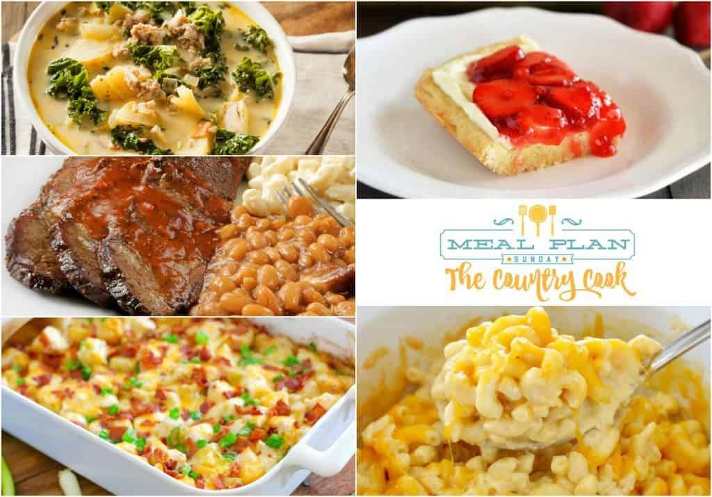 Meal Plan Sunday #27