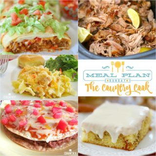 Mexican Pizza ~ Meal Plan Sunday #28