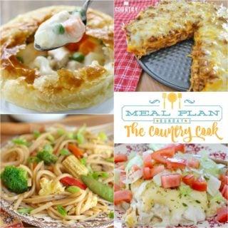 Homemade Chicken Pot Pie ~ Meal Plan Sunday #26