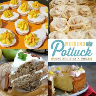 'Deviled Egg' Cake Balls ~ Weekend Potluck #268