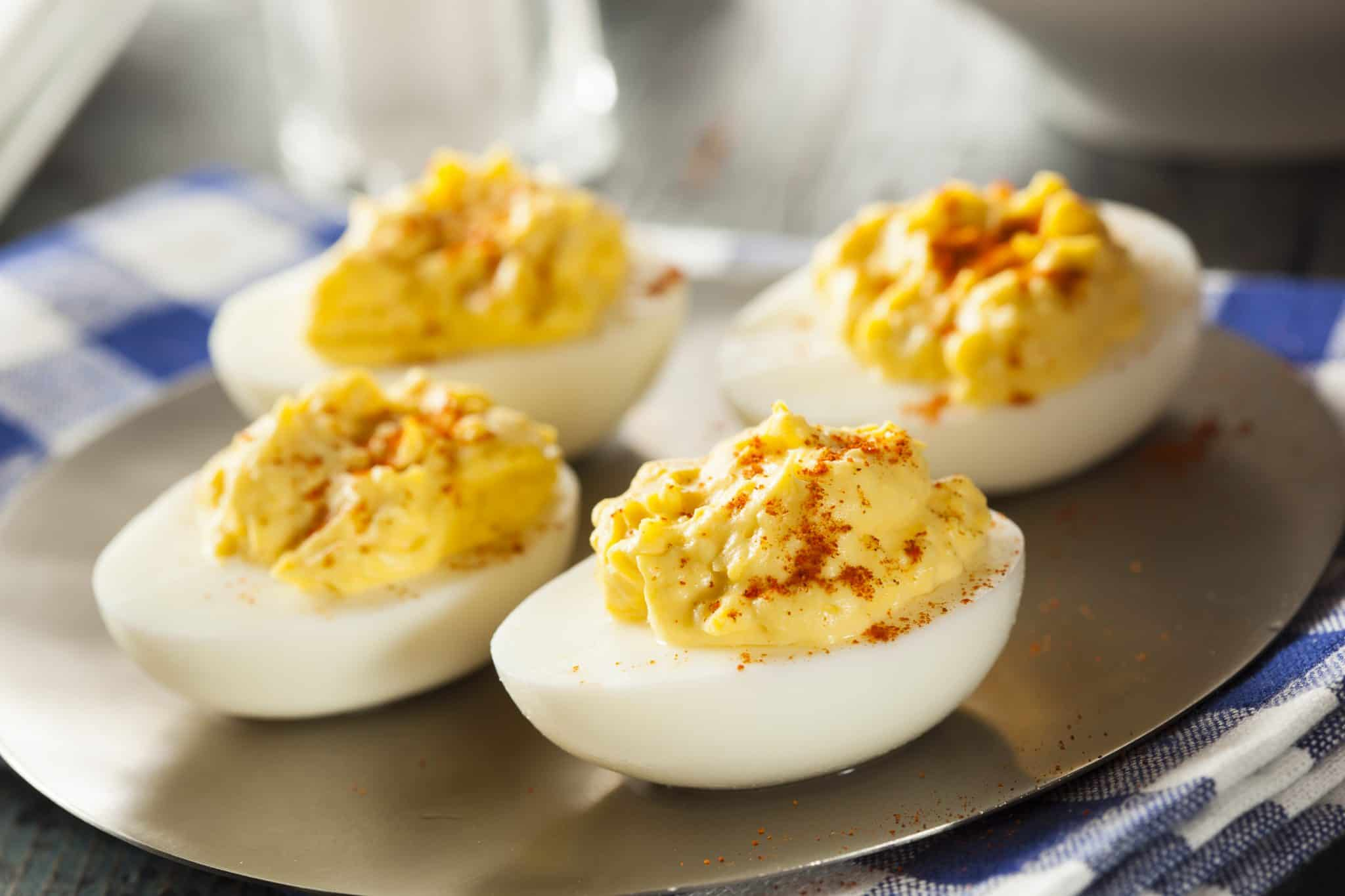 The BEST EVER Deviled Eggs - The Country Cook