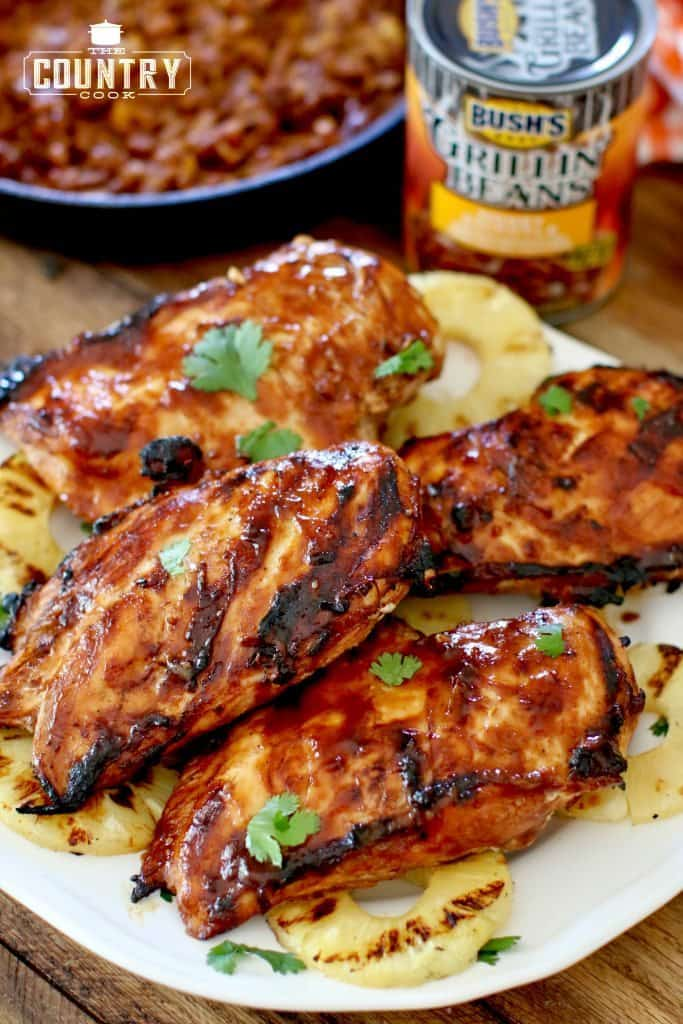 Grilled Hawaiian BBQ Chicken