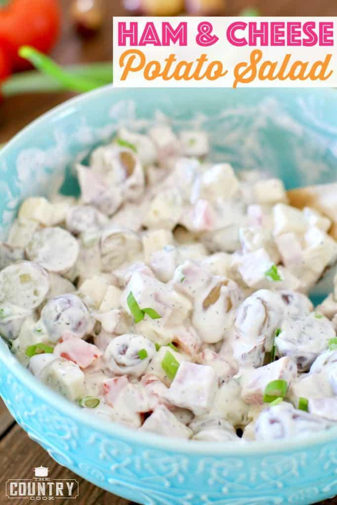 Ham and Cheese Potato Salad