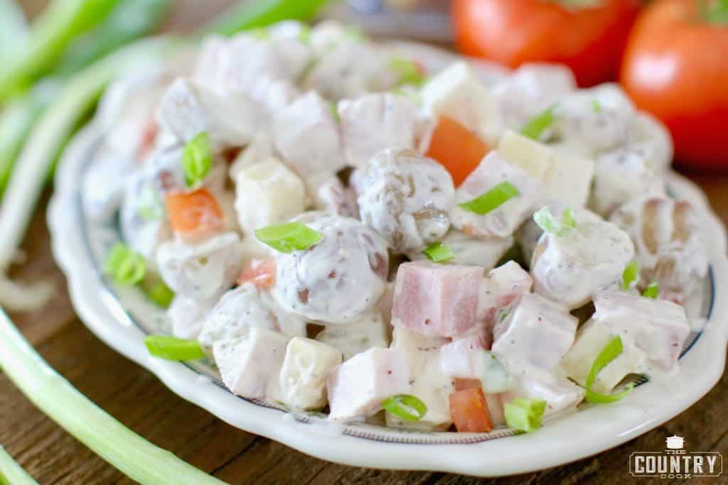Potato and Ham Salad