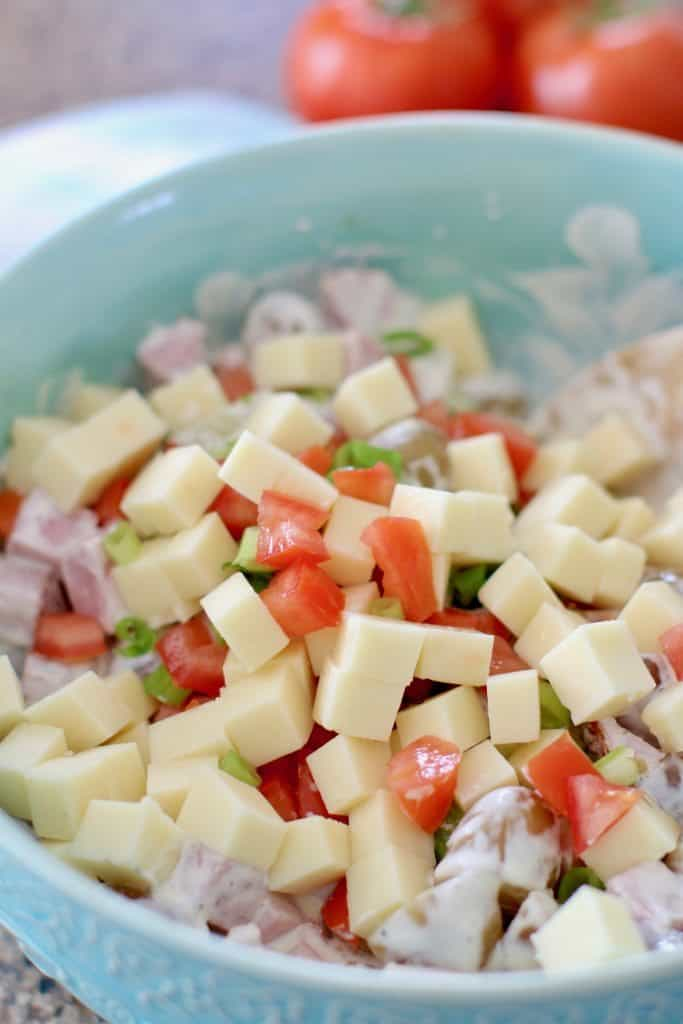 Potato Ham Salad