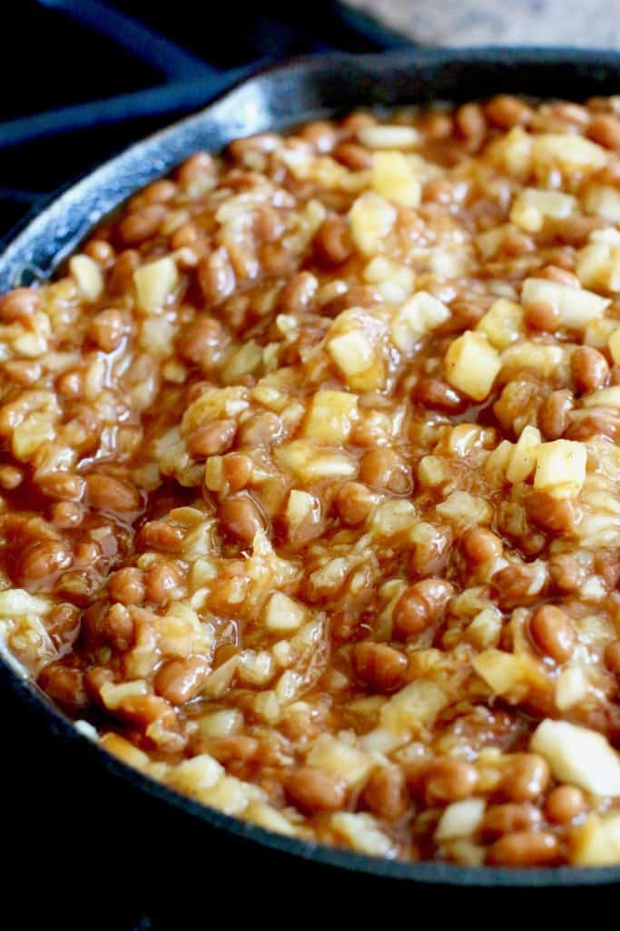 Pineapple Honey Chipotle Grillin' Beans