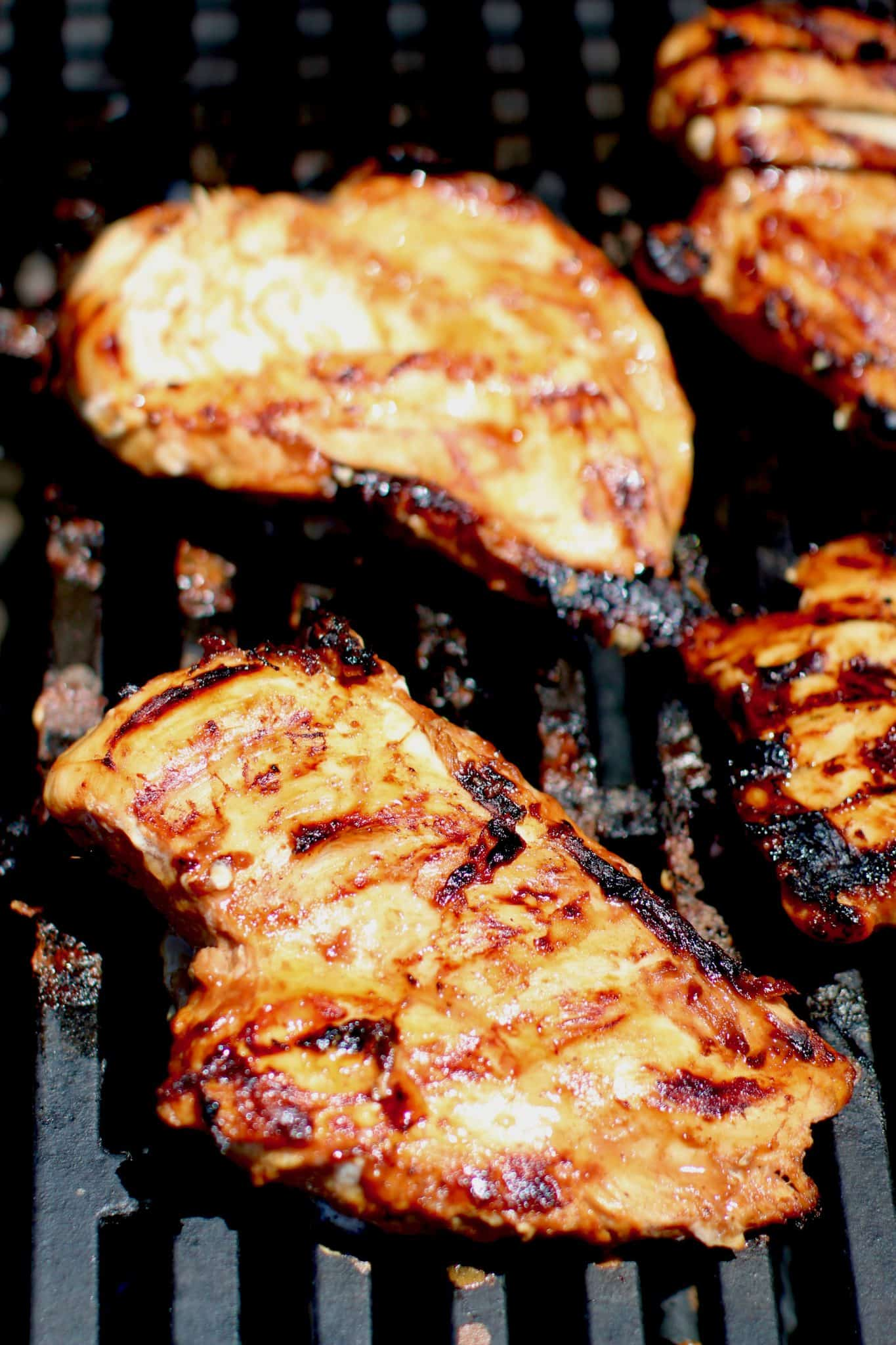 Grilled Hawaiian Bbq Chicken With Pineapple Honey Chipotle Grillin Beans The Country Cook