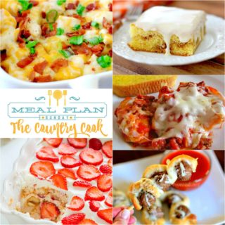 Meal Plan Sunday 30