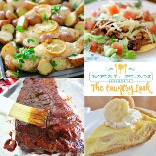 Chicken Tostadas ~ Meal Plan Sunday #31