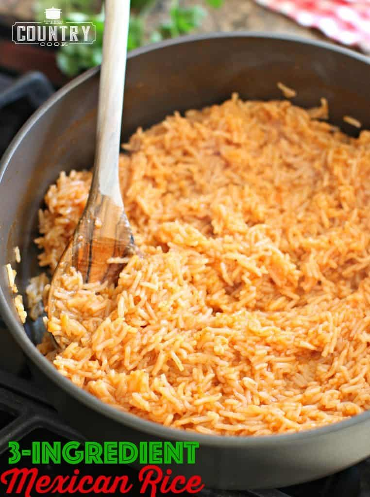 3-Ingredient Mexican Rice