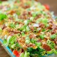 Cake Pan Cornbread Salad