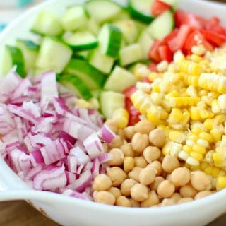 Garbanzo Bean Salad recipe from The Country Cook