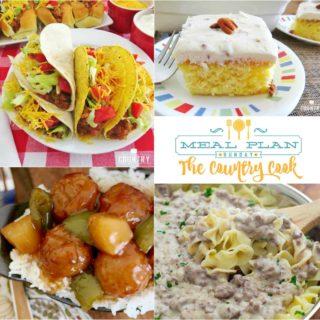 Crock Pot Tacos Meal Plan Sunday #35