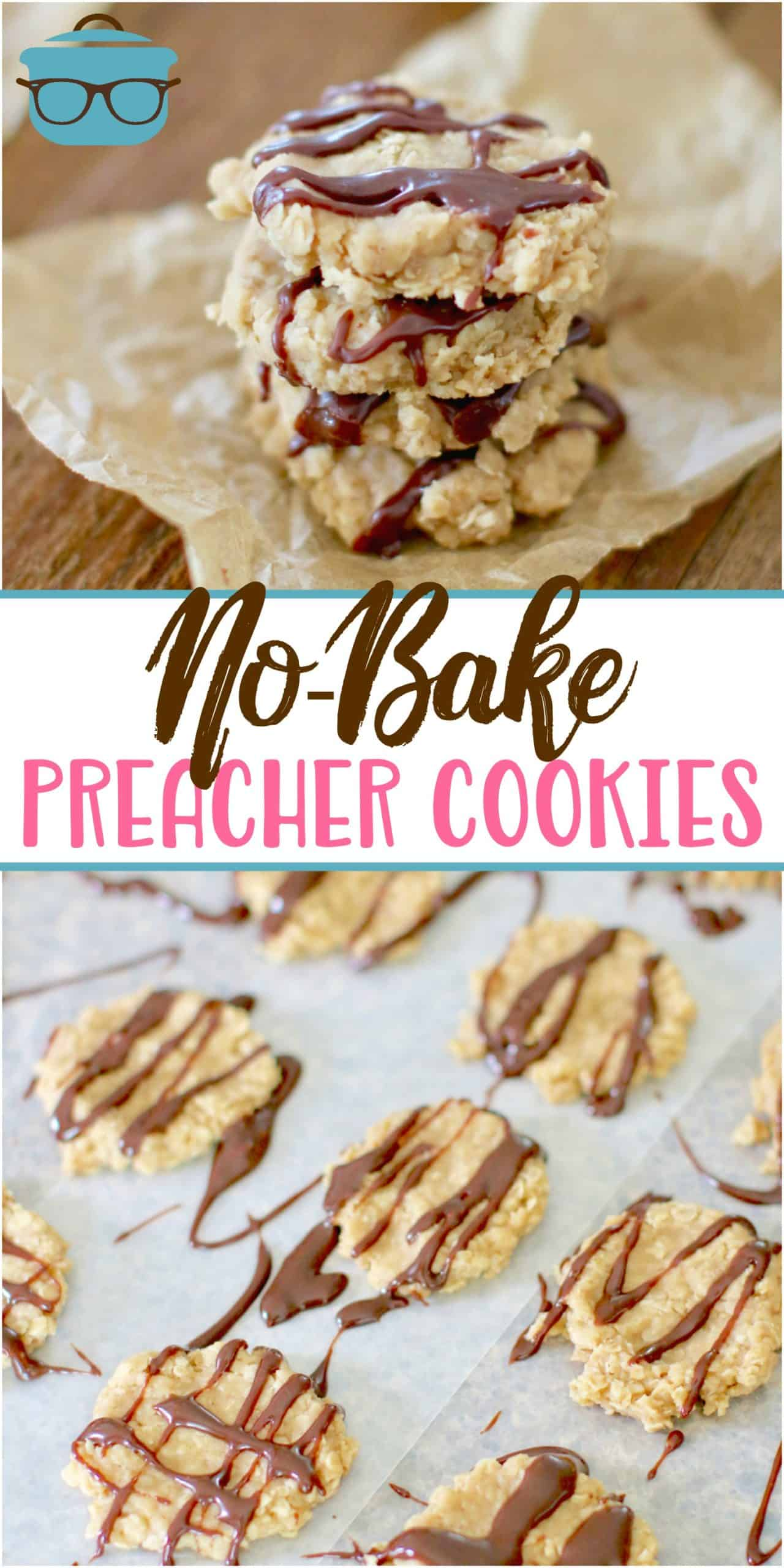 These No-Bake Preacher Cookies get their name from being a fast, sweet treat to make when you see the preacher coming!