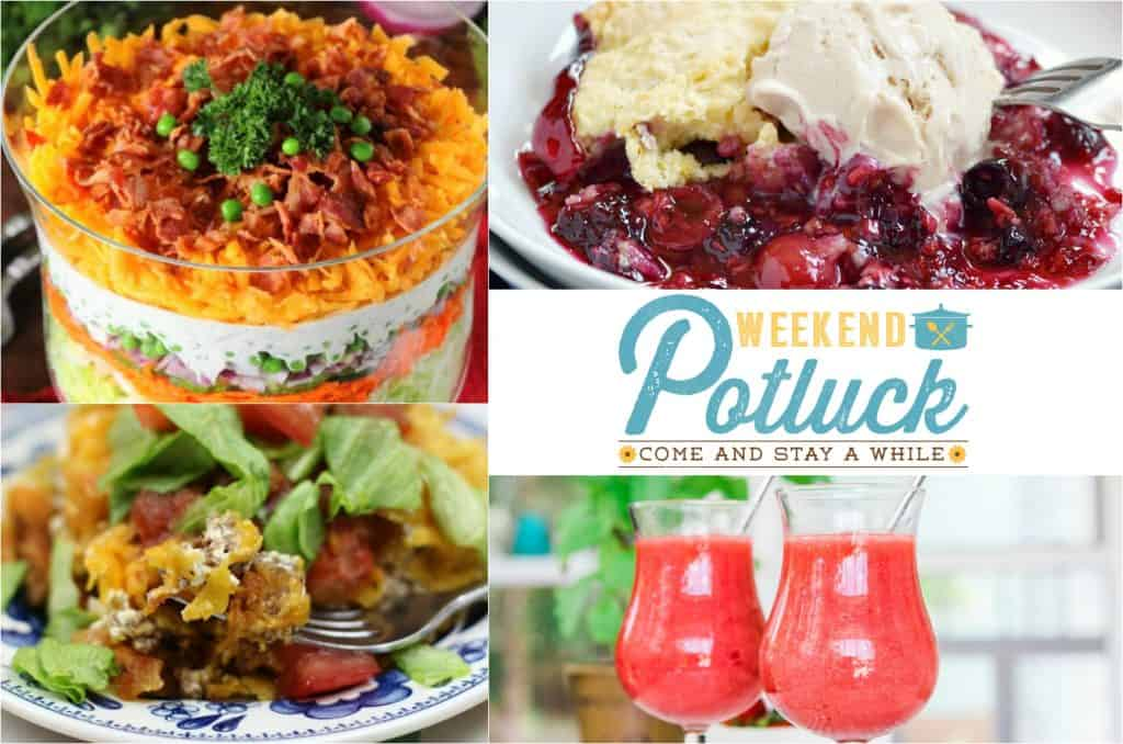 Make-Ahead Layered Salad at Weekend Potluck