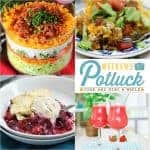 Make-Ahead Layered Salad ~ Weekend Potluck #277