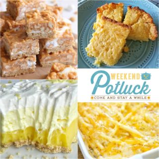 No-Bake Lemon Pudding Pie ~ Weekend Potluck #278