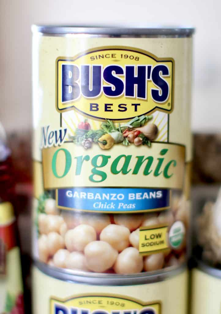 BUSH'S Organic Garbanzo Beans