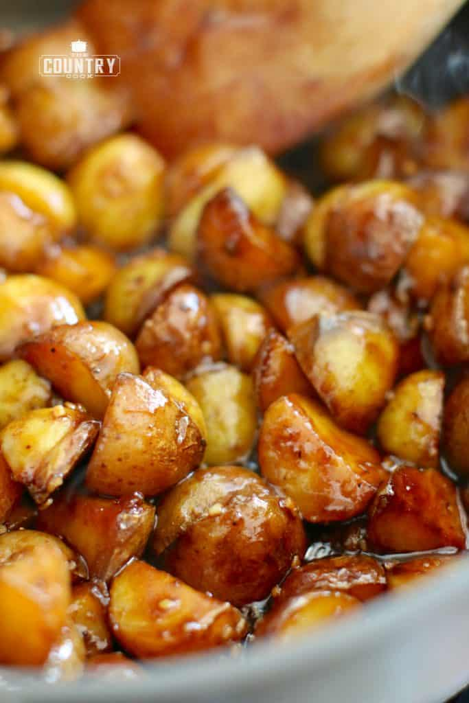 Sweet & Sticky Potatoes