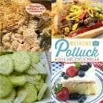 Cucumber Salad ~ Weekend Potluck #283