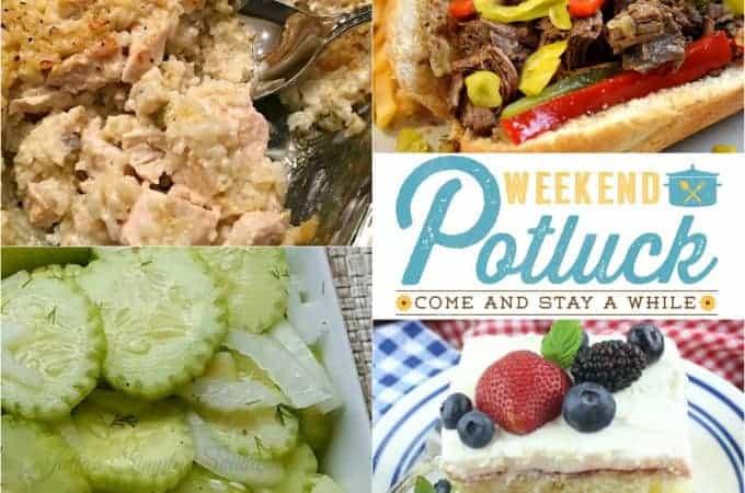 Cucumber Salad Weekend Potluck #283