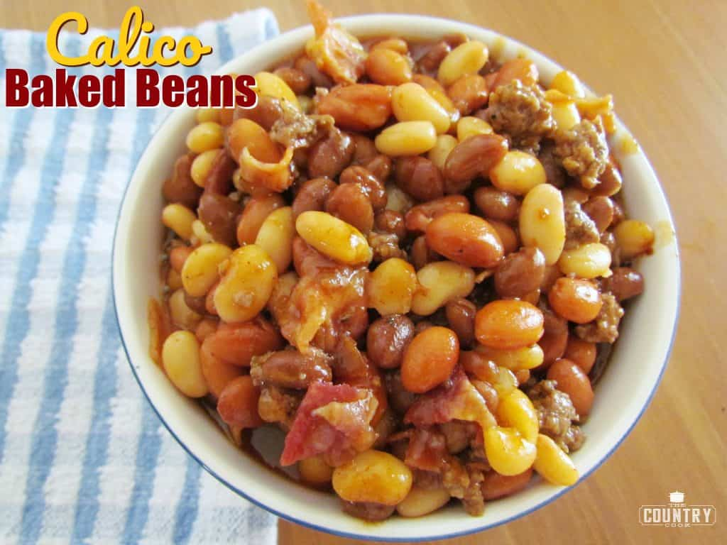 Calico Baked Beans recipe from The Country Cook