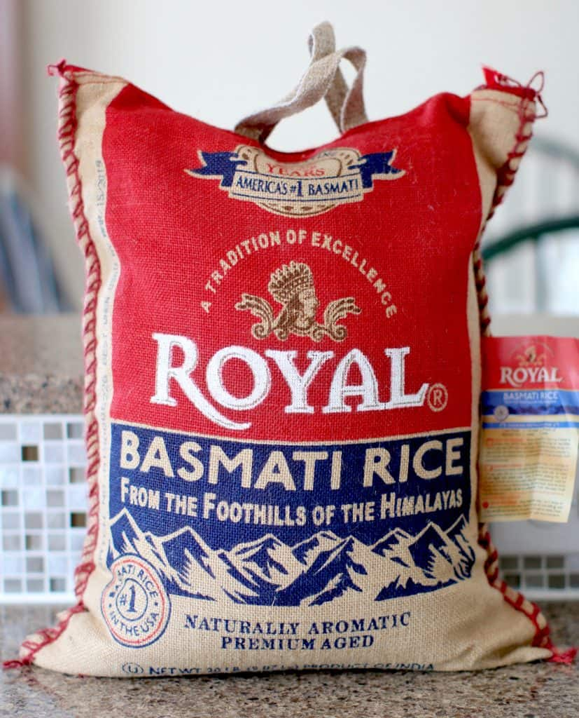 20 lb bag Royal Basmati Rice
