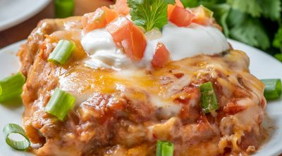 The Best Mexican Lasagna recipe