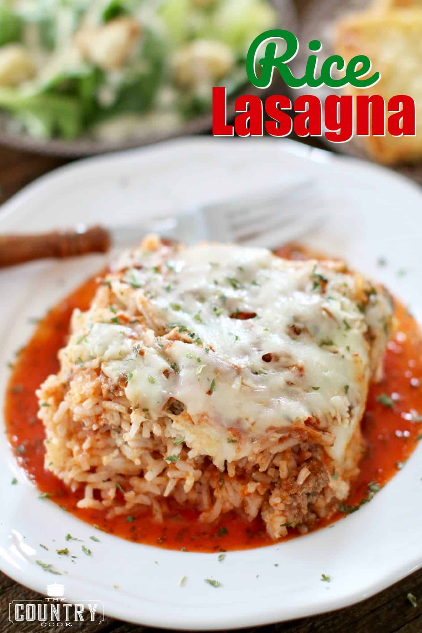 Rice lasagna copyright the country cook rice lasagna recipe from the country cook forumfinder Image collections