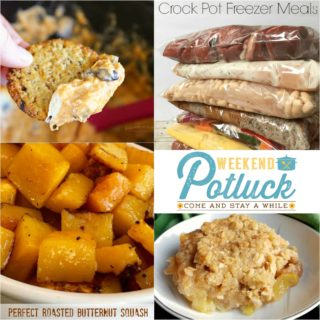 10 Crock Pot Freezer Meals ~ Weekend Potluck #287
