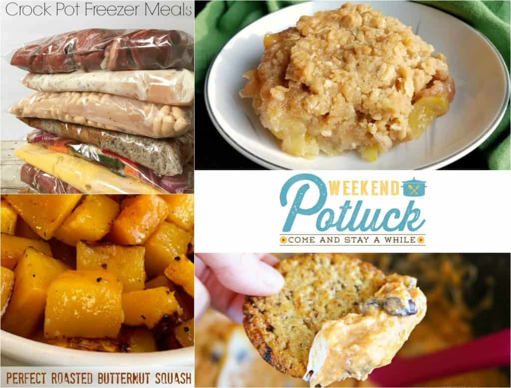 10 Crockpot Freezer Meals - Weekend Potluck #287