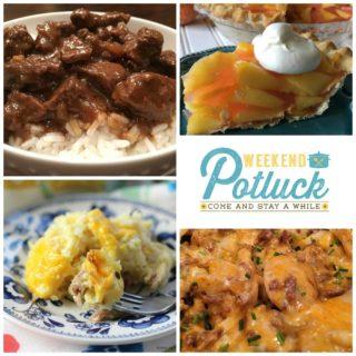 Best-Ever Beef Tips ~ Weekend Potluck #288