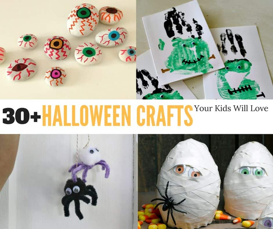 30 Halloween Crafts For Kids The Country Cook